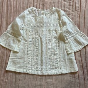 Baby Gap Eyelet Blouse